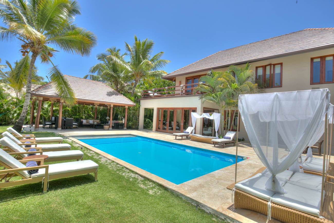 Punta cana luxury villa rentals Arena Gorda